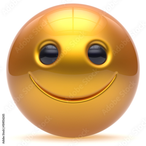 Smile Toys And Joys : Quot smiling face head ball cheerful sphere emoticon cartoon