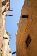 アラブの古い街並みと建物 / Arabic traditional buildings and town