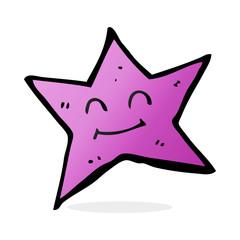 cartoon star character