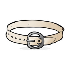 cartoon old belt