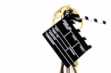 Film damper with a tripod