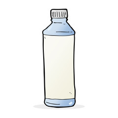 cartoon water bottle