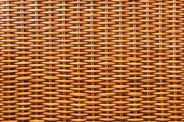 Brown wicker texture background