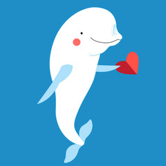 love with a dolphin