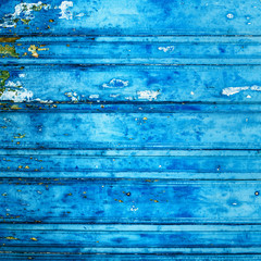 Vintage wood background with peeling paint...
