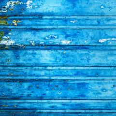 Vintage wood background with peeling paint...