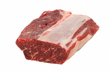 raw beef entrecote