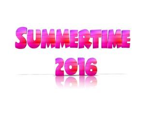 summertime 2016 3d wort