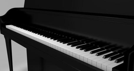 Piano White Bg