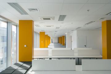 Modern business office interior