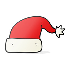 cartoon christmas hat
