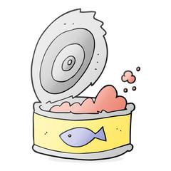 cartoon can of tuna