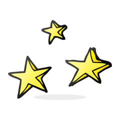 cartoon decorative stars doodle