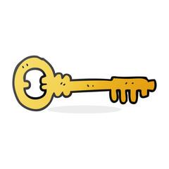 cartoon key