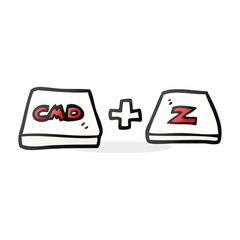 cartoon command Z function