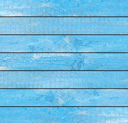 Blue Wood Wall For text and background