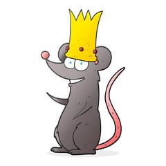 cartoon king rat