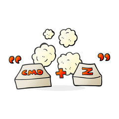 cartoon command Z function