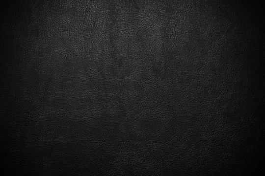 imitation leather black pvc or background