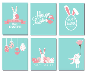 Happy easter day, vector