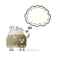 thought bubble cartoon smelly cow