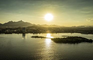 Sunset over the Rio de Janeiro Mountains