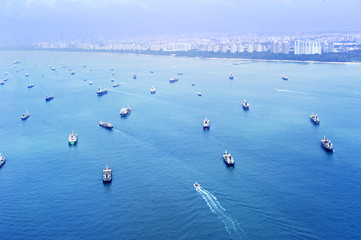 Singapore shipping industry