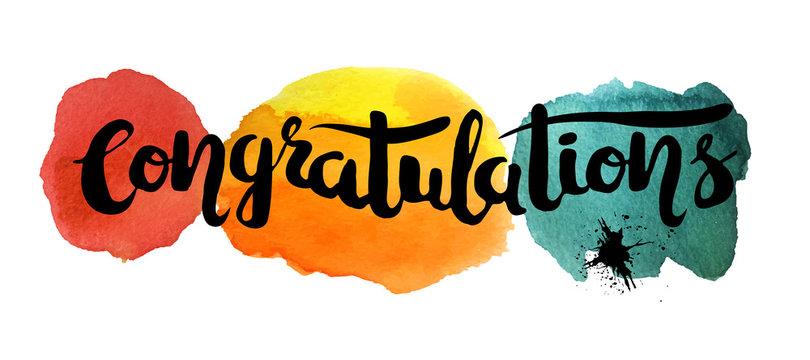 "144 BEST ""Congratulations Text"" IMAGES, STOCK PHOTOS & VECTORS   Adobe Stock"