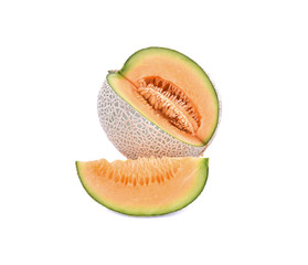 Honeydew Melon/A Juicy melon/A juicy honeydew melon from Japan o