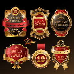 splendid golden premium labels collection