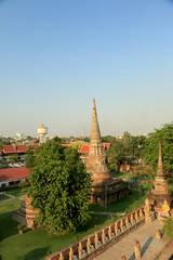 Buddha  image and architecture of thailand
