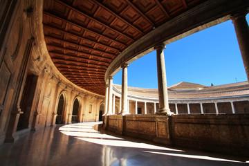 Alhambra de Grenade (Espagne) - Palacios de Carlos V