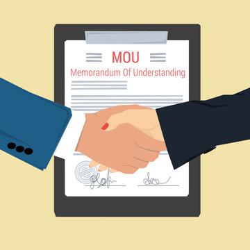 handshake - Memorandum Of Understanding