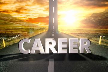 career road sky upwards sky sun highway up grow motivation