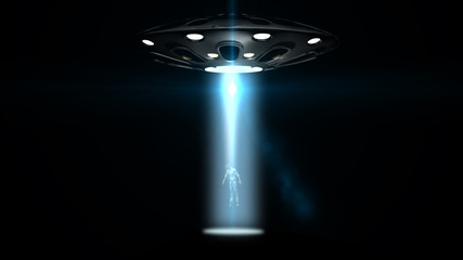 flying saucers ufo kidnapped a man