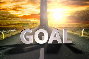 goal road sky upwards sky sun highway up grow motivation