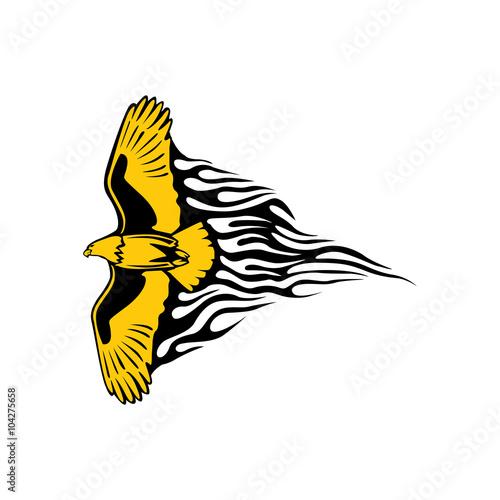 Gold eagle logo