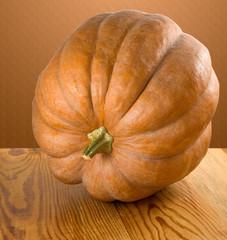 image of a ripe pumpkin close up