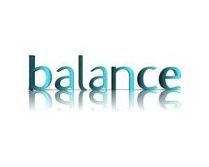 Balance 3d wort