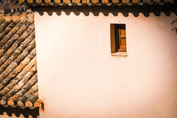 Architectural details. Andalusia. Spain.