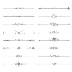 Decorative Designs and Border Elements