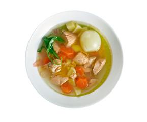 Greek Style Fish Soup