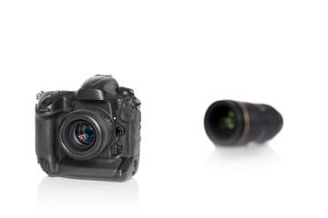 Kamera mit Objektiv unscharf 2