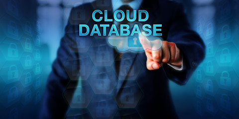 Database Manager Pressing CLOUD DATABASE