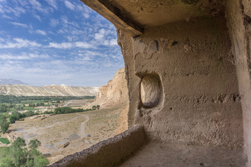 view of bamiyan valley