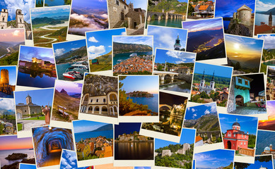 Stack of Montenegro and Bosnia travel images (my photos)