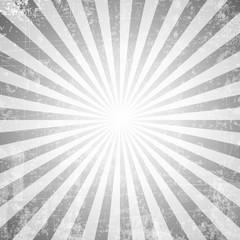 Grunge style abstract starburst & sunburst background