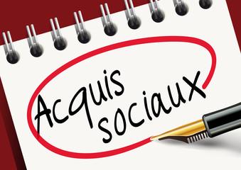 Acquis sociaux - syndicat