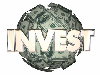 Invest Money Cash Stock Market Wall Street Dollar Sphere