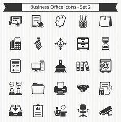 Business Office Icons - Set 2